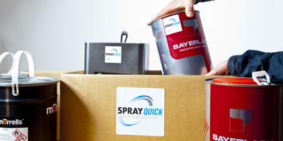 Spray Quick Delivery